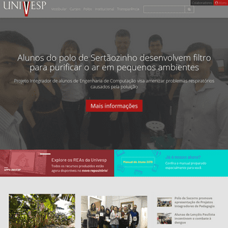 Home page _ Univesp -