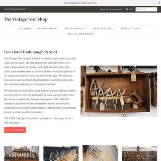Vintage Tool Shop, Stalbridge - Fine Hand Tools Bought & Sold – The Vintage Tool Shop
