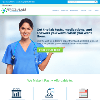 Personalabs- Blood Testing & Telemedicine - Your Health In Your Hands