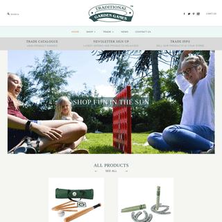ArchiveBay.com - traditionalgardengames.com - Traditional Garden Games - Traditional and Timeless