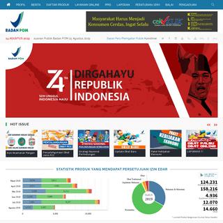 Badan Pengawas Obat dan Makanan - Republik Indonesia