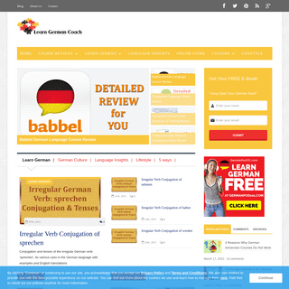 Reviews & Culture Info for German Learners & Enthusiasts