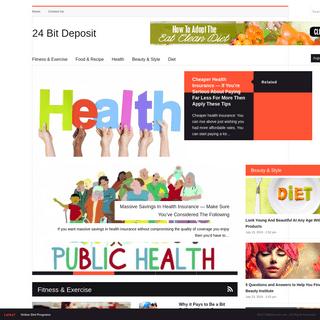 24 Bit Deposit - My WordPress Blog