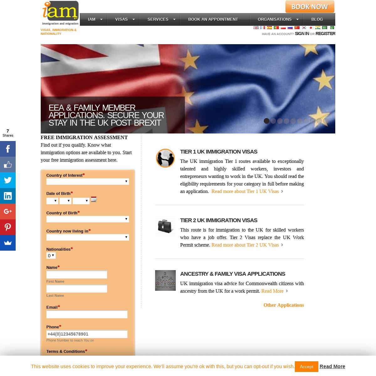 iam - IAM (Immigration and Migration) - UK