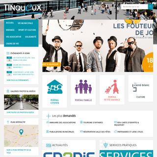 T I N Q U E U X – Site internet de la Ville de Tinqueux