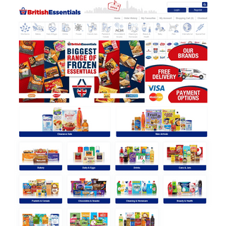 British Essentials - Hong Kong's 1st Online British Supermarket
