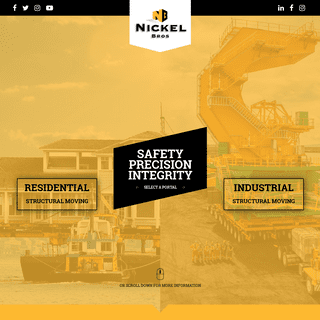 Nickel Bros - Structural Moving, Heavy Lifting & Transportation Since 1956
