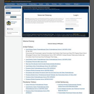 Wikiapbn – Sebuah Ensiklopedia Kementerian Keuangan