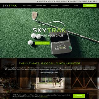 ArchiveBay.com - skytrakgolf.com - The Ultimate Indoor Launch Monitor - SkyTrak