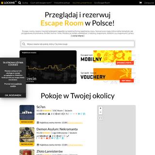 ArchiveBay.com - lockme.pl - Escape Roomy w Polsce - Lockme