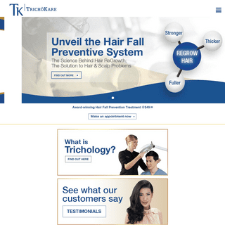 TK TrichoKare │ Solutions to your Hair & Scalp Problems