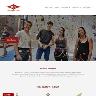 ArchiveBay.com - boulderrockclub.com - Boulder, Colorado Indoor Climbing Gym - Boulder Rock Club