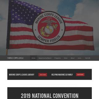 MARINE CORPS LEAGUE - National Marine Corps League