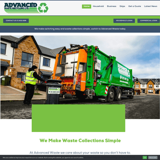 Advanced Waste – Domestic and Commercial Waste Management