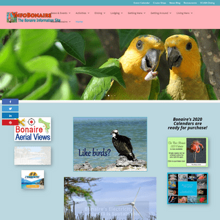 InfoBonaire- The Bonaire Information Site updated daily