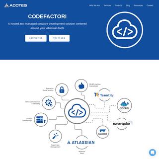 Codefactori - Devops Security - Atlassian Tools - Addteq Inc.