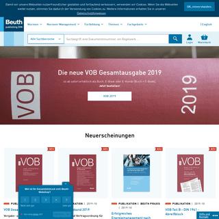 Beuth Verlag - Normen, Standards & Fachliteratur kaufen - seit 1924