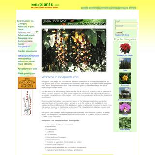 indiaplants.com - info, plants, garden accessories and more..
