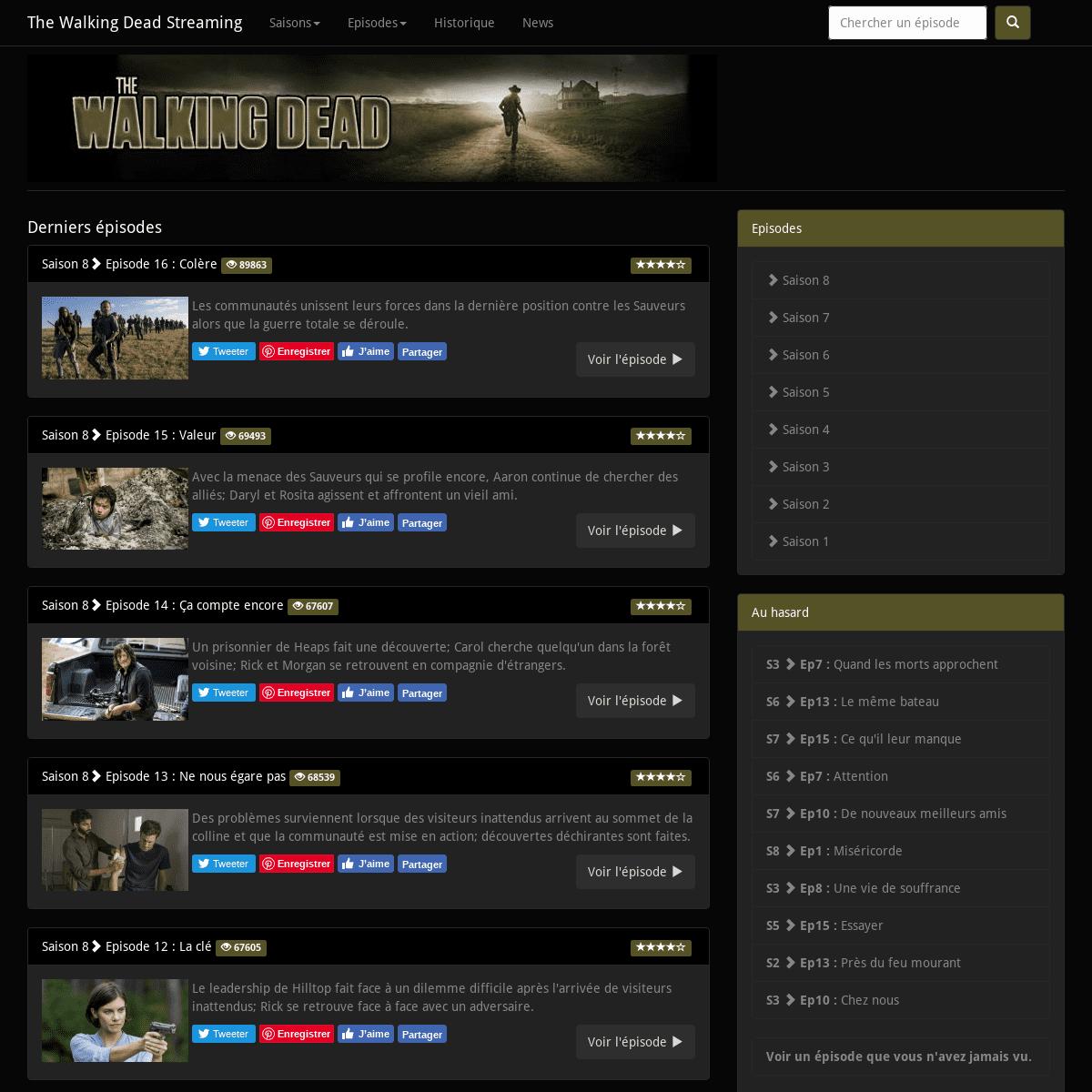 ArchiveBay.com - the-walking-dead-streaming.net - The Walking Dead Streaming - Tous les épisodes de The Walking Dead en streaming gratuitement