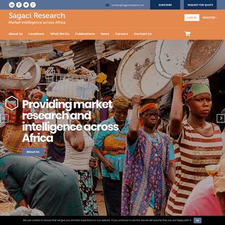 Sagaci Research Market intelligence across Africa