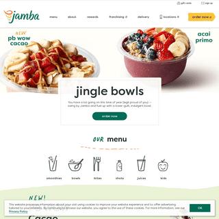 Smoothie Place & Shop- Smoothie Bowls & Juices- Jamba Juice