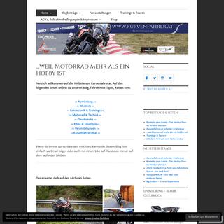 Der Kurvenfahrer.at – Der Motoblog