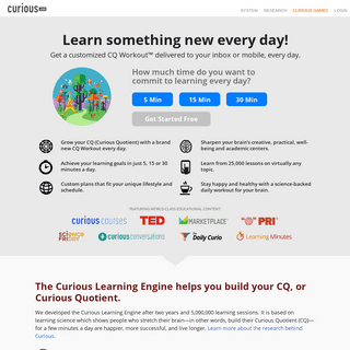 Learn Something New Every Day with Online Video Lessons - Curious.com