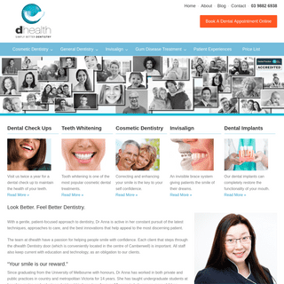 dhealth Dentistry - General & Cosmetic Dentist Camberwell, Melbourne