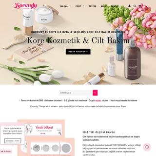 ArchiveBay.com - korendy.com.tr - Kore Kozmetik ve Kore Cilt Bakım - K-Beauty'nin Türkiye Adresi – Korendy TR