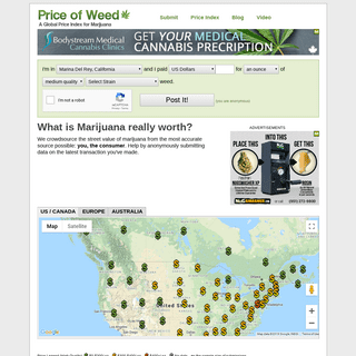 ArchiveBay.com - priceofweed.com - The Price of Weed, Marijuana, Cannabis - PriceOfWeed.com