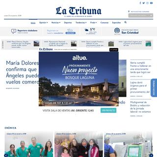 La Tribuna- El Diario de la provincia de biobio - La Tribuna
