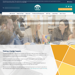 White Rose Maths - Free Maths Teaching Resources - CPD Training