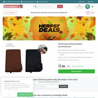 Dagdeals bij Dealdonkey - 300+ deals van de dag - Dealdonkey