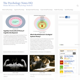 The Psychology Notes Headquarters - Psychology notes, psychology study guide, psychology tutorials, and other online resources f