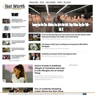 Home - Net Worth Magazine