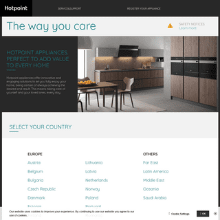 Hotpoint- Purchase Quality Home & Kitchen Appliances Online