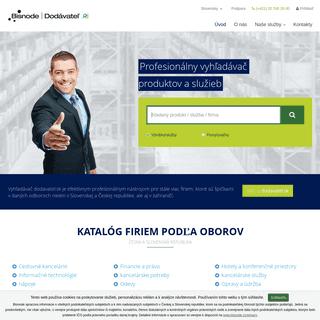 dodavatel.sk - B2B databáza produktov a služieb