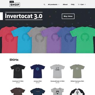GitHub Shop - Awesome GitHub T-shirts and other cool swag