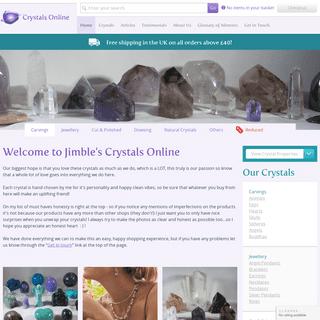 ArchiveBay.com - crystals-online.co.uk - Welcome to Crystals Online - Crystals Online