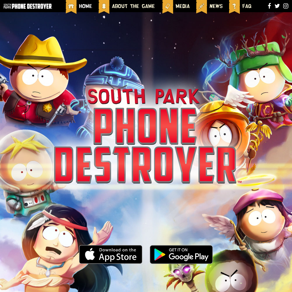 Home - South Park- Phone Destroyer™