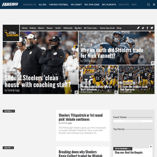 Still Curtain - A Pittsburgh Steelers Fan Site - News, Blogs, Opinion and more.