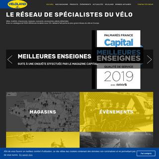 Veloland - Le specialiste du velo de route, velo de ville, vtt, velo electrique pour hommes, femmes et enfants.