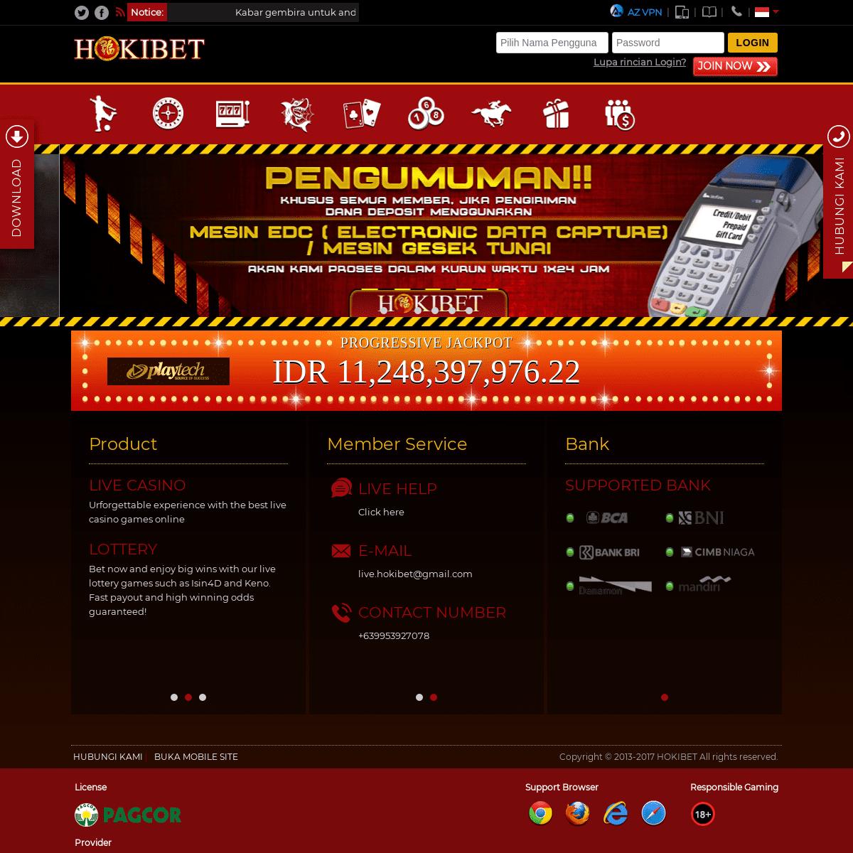 Hokibet Situs Judi Online Agen Bola Daftar Sbobet Judi Poker Online