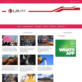 Inicio LJA - La Jornada Aguascalientes (LJA.mx)
