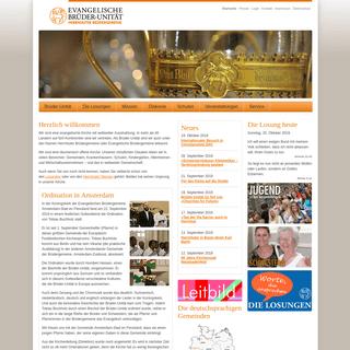 ArchiveBay.com - ebu.de - Startseite - Evangelische Brüder-Unität – Herrnhuter Brüdergemeine
