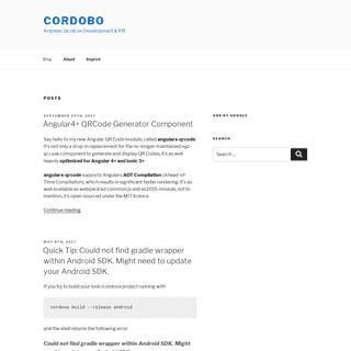 Cordobo – Andreas Jacob on Development & HR