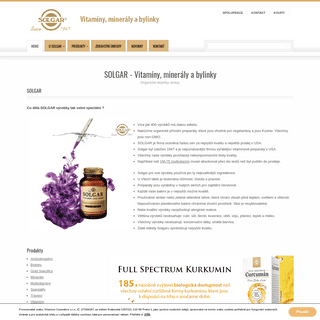 SOLGAR – Vitamíny a minerály
