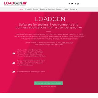 ArchiveBay.com - loadgen.com - LoadGen - Software for testing IT environments and applications