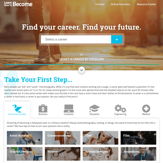 Find Your Dream Career - LearnHowToBecome.org