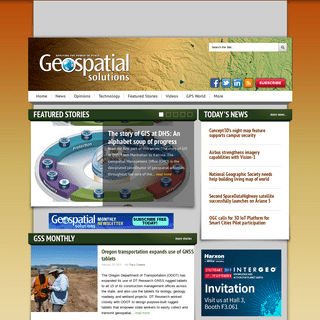 Geospatial Solutions – Applying The Power Of Place - Geospatial Solutions